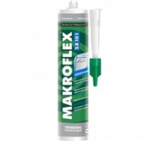 Герметик силиконовый санитарный бесцветный (0,29л) SX101 МАКРОФЛЕКС